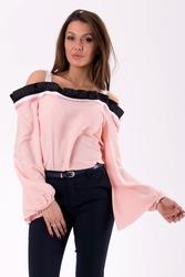 Bluzka -pudrowy róż 46031-2