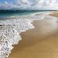 Obraz na płótnie canvas czteroczęściowy tetraptyk maui, hawaje plaża.
