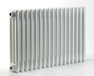 Grzejnik pokojowy retro - 3 kolumnowy, 700x1200, białyral - paleta ral