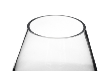 Wazon szklany średnica 13.5 cm wysokość 12 cm