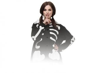 Szkielet kigurumi onesie dres piżama kombinezon