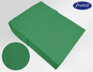 Prześcieradło frotte z gumką Frotex zielone 019 - zielony