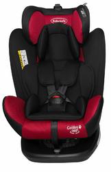 BabySafe Golden 360 Czerwony Fotelik obrotowy 0-36kg Isofix + Mata pod Fotelik