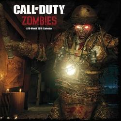 Call Of Duty Zombies - 16 miesięcy - kalendarz 2016 r.