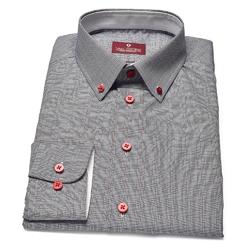 Elegancka koszula VAN THORN w kratkę księcia Walii 37