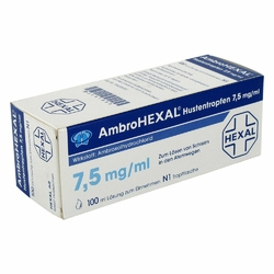 Ambrohexal Hustentropfen 7,5 mgml