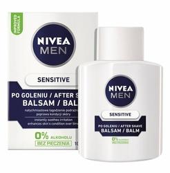 Nivea For Men Sensitive, balsam po goleniu skóra wrażliwa, 100ml