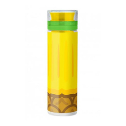 Butelka z pojemnikiem na owocelód Froot Infusing Bottle Mustard ananas