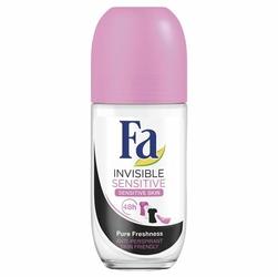 Fa, Invisible Sensitive, dezodorant roll-on, 50 ml