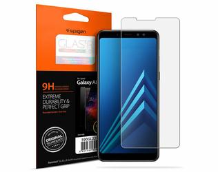 Spigen szkło hartowane Samsung Galaxy A8 2018 Glas.tR Slim HD