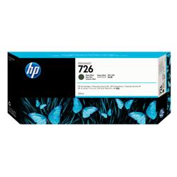 Czarny matowy wkład atramentowy HP 726 DesignJet 300 ml