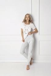 Aruelle Catwoman Long White piżama damska
