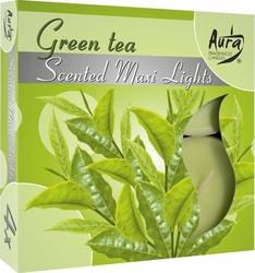 Bispol Maxi, Green Tea, podgrzewacze zapachowe, 4 sztuki