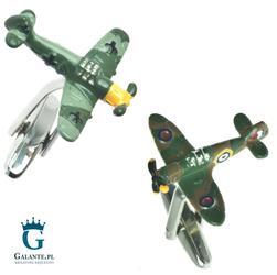Spinki do mankietów SpitfireME109 UE-01130