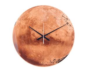 Karlsson :: Zegar ścienny Mars miedziany