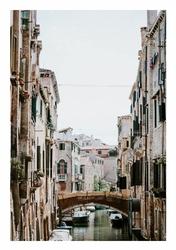 Wenecja mostek - plakat Wymiar do wyboru: 20x30 cm
