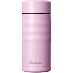 Stalowy kubek termiczny z powłoką ceramiczną Kyocera Twist Top różowy MB-12SPK