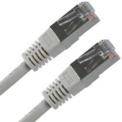 FTP patchcord FTP patchcord, Cat.5e, RJ45 M-30m, chroniony, szary, economy