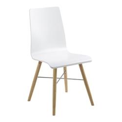 Krzesło Mila białe skandynawskie