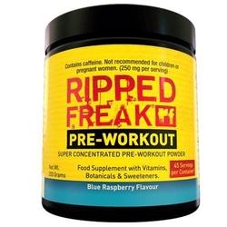 PHARMA FREAK Ripped Freak Pre-Workout - 200g - Blue Raspberry