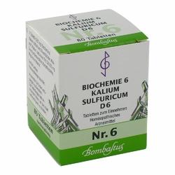 Biochemie 6 Kalium sulfuricum D 6 Tabl.