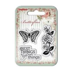 Ozdobne stemple Butterflies - 001 - 001