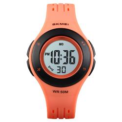 Zegarek dziecięcy SKMEI 1455 DATOWNIK LED orange - ORANGE