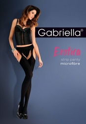 Gabriella Erotica Strip Panty microfibra 638 rajstopy