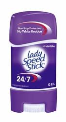 Lady Speed Stick Invisible dezodorant, żel 65g