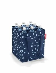 Torba bottlebag spots navy