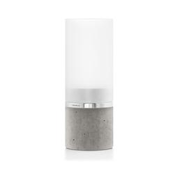 Lampion betonowy ze świecą 18,5 cm Faro Blomus