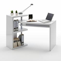 PATTIS biurko obrotowe wysoki połysk