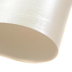 Ozdobny karton BATYST 220gA4 - perłowa biel