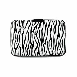 Portfel Aluminiowy Ogon Designs Stockholm Zebra RFID protect - Zebra