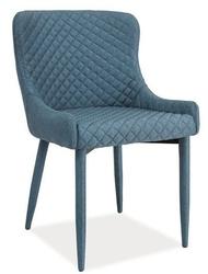Krzesło tapicerowane Azure denim