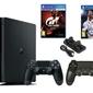KONSOLA SONY PS4 1TB SLIM + 2 PADY + FIFA 18 + GRAN TURISMO + ŁADOWARKA
