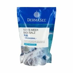 Dermasel czysta sól do kąpieli z Morza Martwego