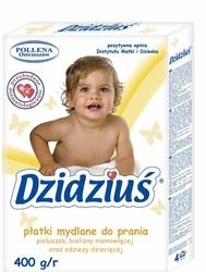 Dzidziuś, płatki mydlane do prania ubranek dziecięcych, 400g