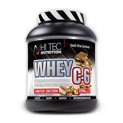 HI-TEC Whey C6 - 2250g - Biscutt - Marshmallow  L