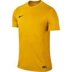 NIKE KOSZULKA PARK VI - DRI FIT JUNIOR 725984-739 - Żółty  Krótki