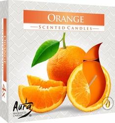 Bispol Maxi, Orange, podgrzewacze zapachowe, 4 sztuki