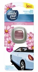 Ambi Pur Car, Jaguar, Flowers  Spring, odświeżacz powietrza do samochodu, 2ml