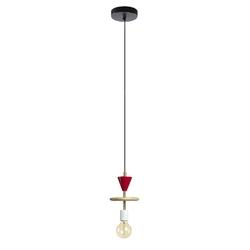 Lampa wisząca ATHENA 15x15 kolor wielokolorowy