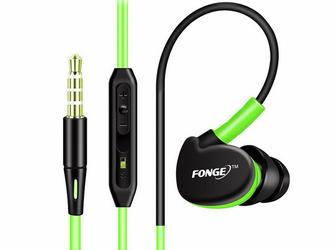 Słuchawki sportowe Fonge FG-S500 Zielone - Zielony
