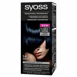 Syoss Color, farba do włosów, 1-4 granatowa czerń