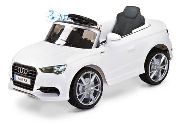 Audi A3 Biały Samochód na akumulator TOYZ + PILOT DLA RODZICA