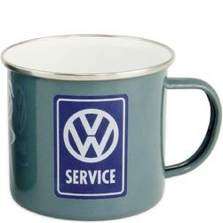 Kubek emaliowany z uchem VW Service BR-BUTA18