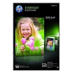 Hp everyday photo paper, glossy, foto papier, połysk, biały, 10x15cm, 4x6, 200 gm2, 100 szt., cr757a, atrament