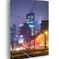 Warszawa city - obraz na płótnie wymiar do wyboru: 60x90 cm