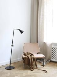 Design for the people :: lampa podłogowa patton czarna wys. 130 cm